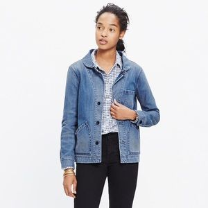 Madewell Joshua Tree Faded Denim Jacket